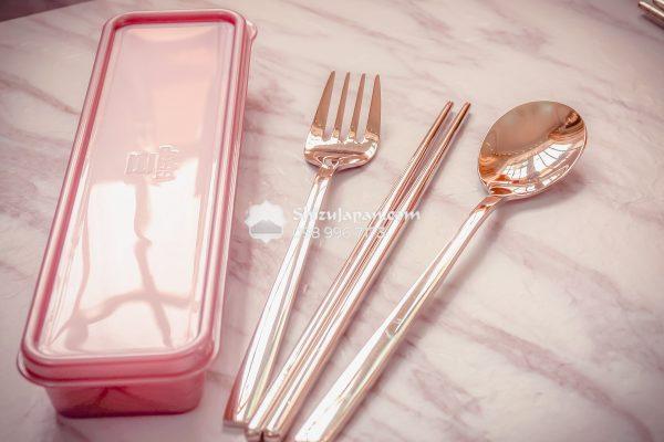 Shizujapan.com SUS304 Lunch Cutlery Set 2019-7199