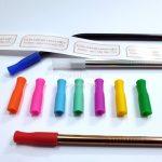 Silicon Cách Nhiệt Bọc Đầu Ống Hút Inox (đường kính 6mm)